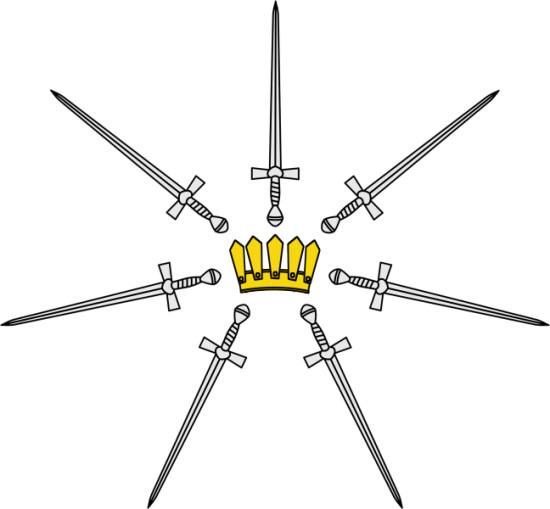 Kingsguard sigil (via AWOIAF)